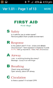 Responders First Aid - náhled