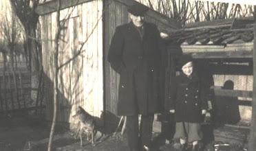 Photo: Opa Duur met Hans vd Herik