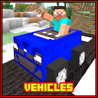 Vehicles Mod for MCPE Addon icon