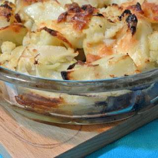 Roasted Potatoes, Cauliflower and Fennel