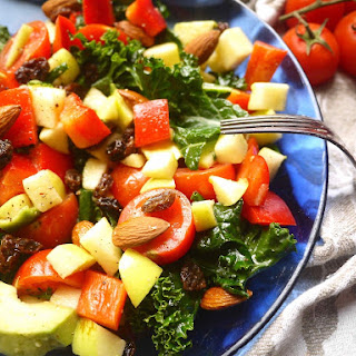 Naturally Sweet & Crunchy Paleo Kale Salad