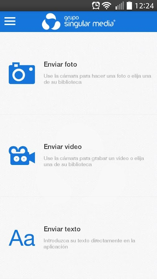 Grupo Singular Media- screenshot