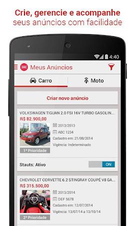 Webmotors - Anunciar Carros 2.0.10 screenshot 650241