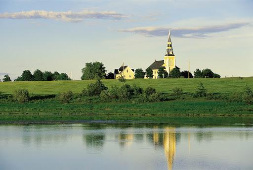 Grand River Church in bucolic Summerside, Prince Edward Island, Canada.