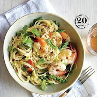 Weight Watchers Thai Shrimp Scampi
