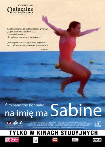 Przód ulotki filmu 'Na Imię Ma Sabine'