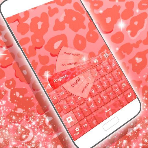 鍵盤粉紅獵豹主題 個人化 App LOGO-硬是要APP