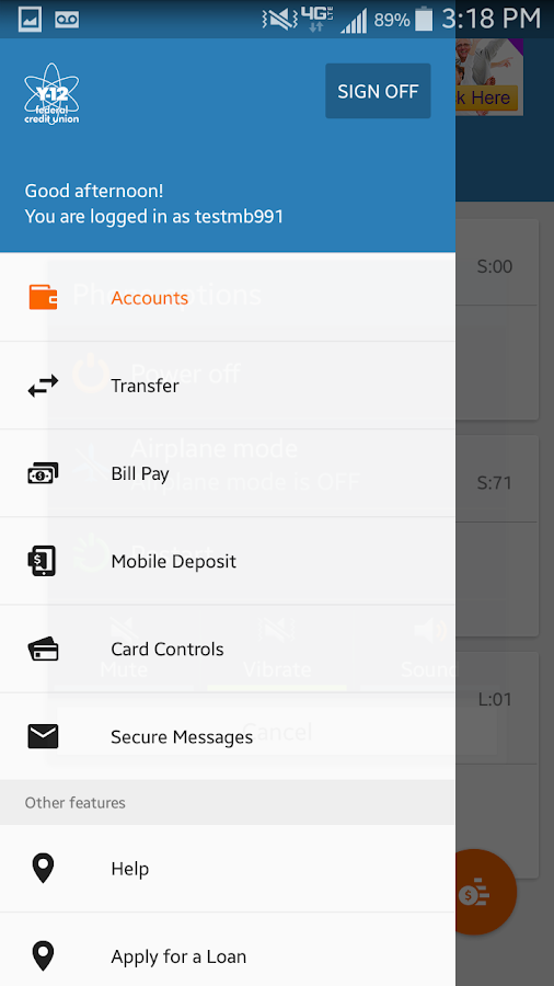 Y-12 FCU Mobile Banking- screenshot