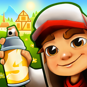 Subway Surfers 2.3.0 (Mod) by SYBO Games logo