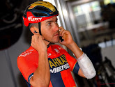 Domenico Pozzovivo (Bahrein Merida) loopt hersenschudding op in de Waalse Pijl