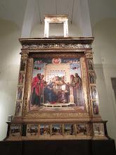 """Photo: Giovanni Bellini's """"Coronation of the Virgin"""""""