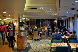 Photo: The cafeteria lounge