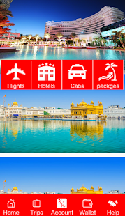 King Holiday, Flights , Hotels, Cabs, Holidays - náhled