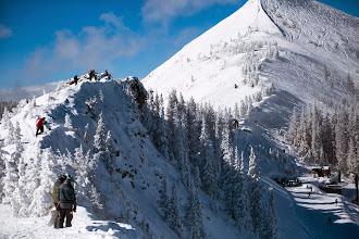 Photo: Hiking the Knife Ridge.
