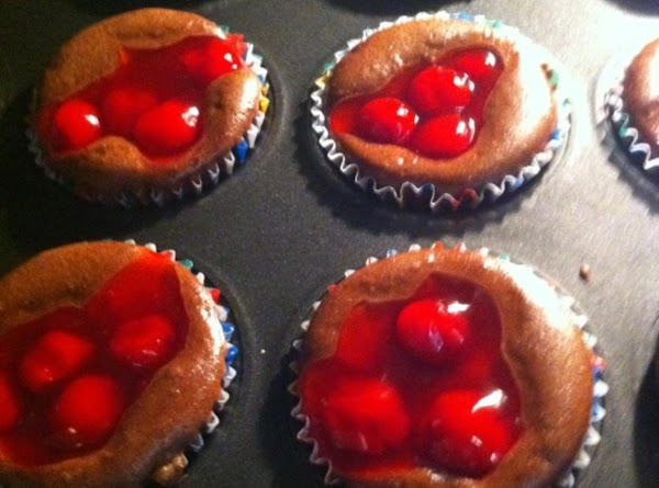 Bake in 350 degree oven for 20 to 25 minutes or until done. (cherries...