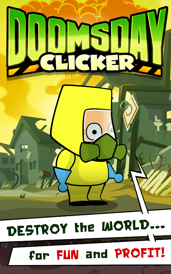 Doomsday Clicker- screenshot