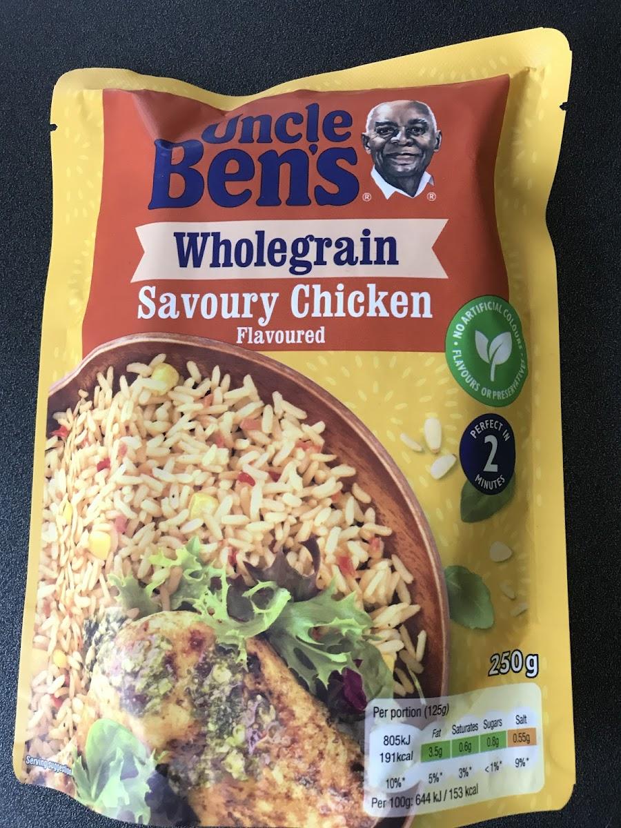 Wholegrain Savoury Chicken Rice