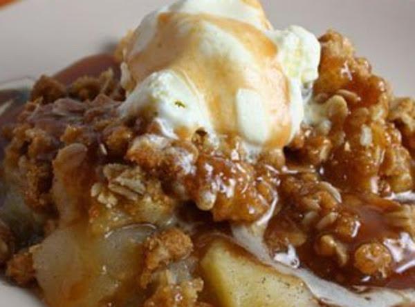 Vanilla Bean Apple Crisp Recipe