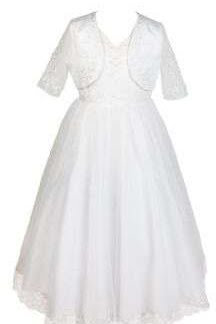 D3347 Communion Dress & Bolero Premier Designs