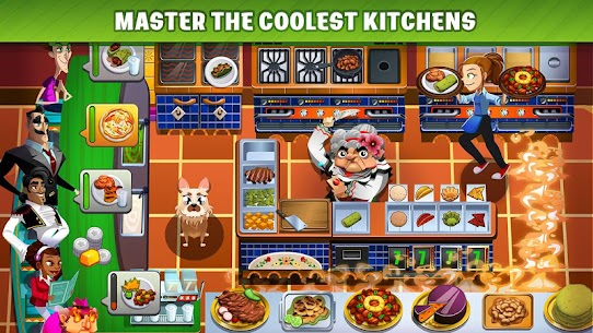 Cooking Dash Mod Apk [Unlimited Coins] 5