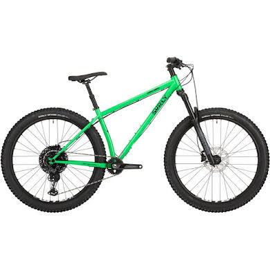 Surly Karate Monkey Front Suspension Bike - High Fiber Green Thumb