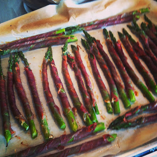 Proscuitto Wrapped Asparagus Recipe