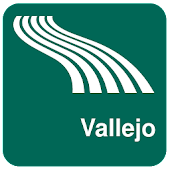 Vallejo Map offline
