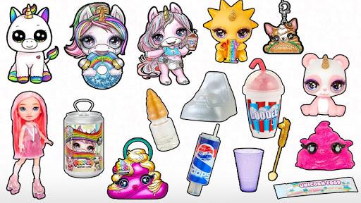 Unicorn Poop: Doll Slime Surprise Simulator android2mod screenshots 12
