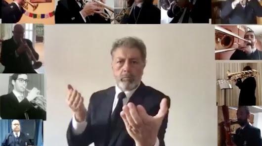 """El tributo de la Banda Municipal a todos los que """"luchan por protegernos"""""""