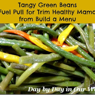 Tangy Green Beans (Trim Healthy Mama approved)