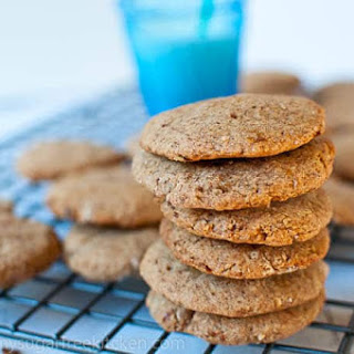 Almond Flour Peanut Butter Cookies.