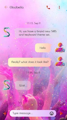 (FREE) GO SMS COLOR 2 THEME screenshots 3