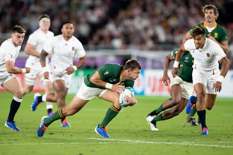 Half Time Boks Lead England In Rugby World Cup Final