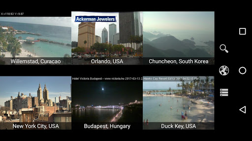 Screenshot for Earth Online: Live World Webcams & Cameras Pro. in Hong Kong Play Store
