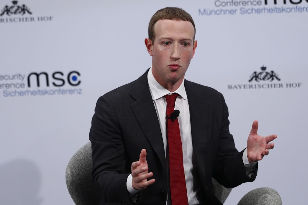 Facebook's Mark Zuckerberg now wants tough laws that win user trust