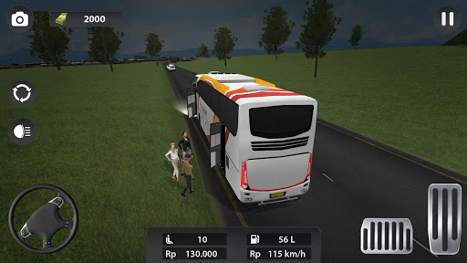 Modern Bus Parking 3D screenshot 8