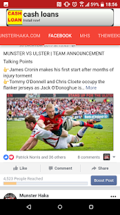 Munster Haka- screenshot thumbnail