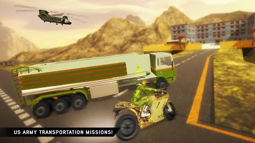 US Army Transporter: Truck Simulator Driving Games  captures d'écran 5