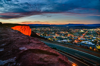 Photo: St George from Dixie Rock