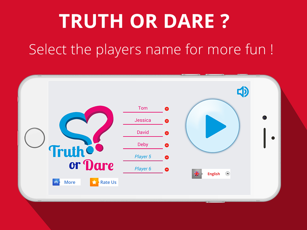 Truth or Dare 2017 ❤️ Couple or Friends Party Game- screenshot