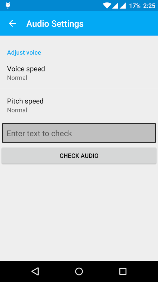 how to increase volume android speech call