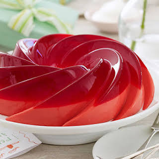 Raspberry-Rose Petal Gelatin.