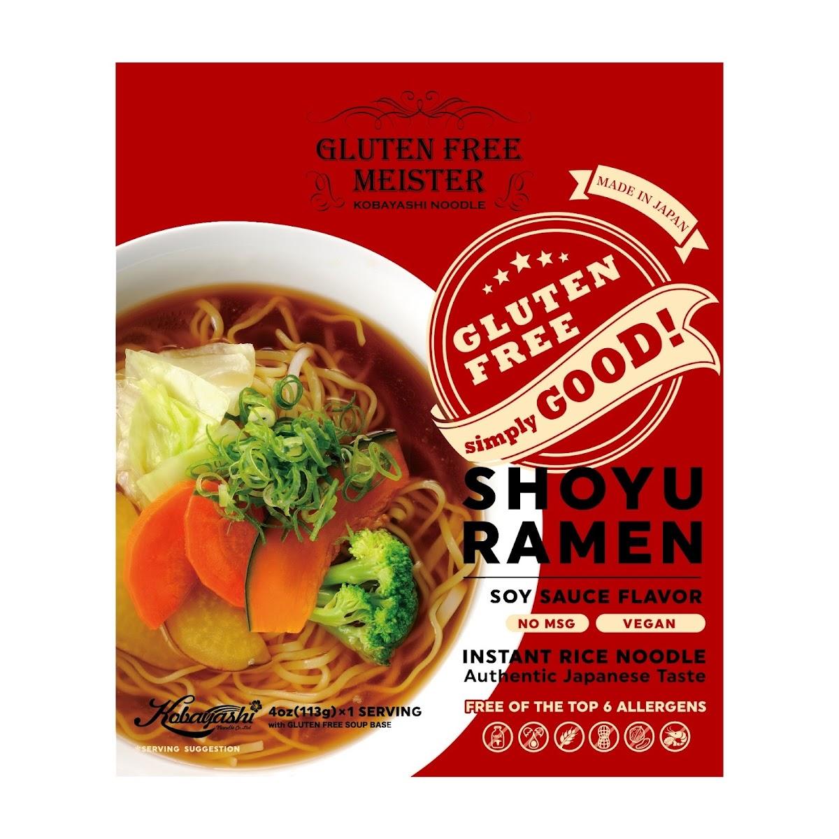 Gluten Free Shoyu Ramen (Vegan)