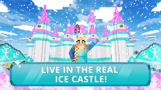 Ice Princess Craft:❄️ Icy Crafting & Building 4