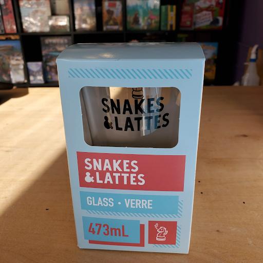 Snakes&Lattes Pint Glass