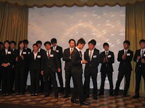 Photo: 新幹部紹介 長田、川島両主将よりチーム目標発表