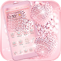 Rose Gold Diamond Love Theme icon