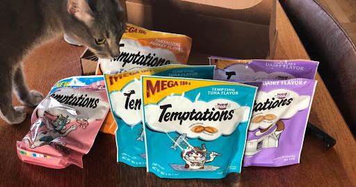 Temptations Cat Treats Variety 4-Pack Only $3.47 Shipped on Amazon | Just 87¢ Per Bag!
