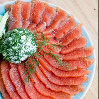 Copycat Kirkland Smoked Salmon recipe (Dry Cured Salmon).