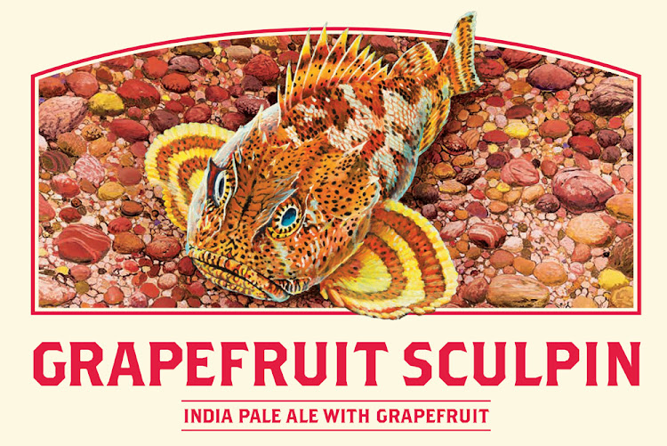 Logo of Ballast Point Grapefruit Sculpin IPA